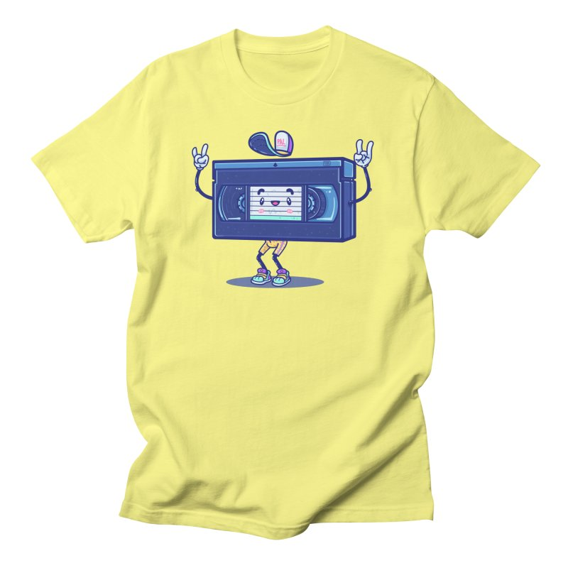 VHS PAL Men's T-Shirt by Bálooie's Artist Shop