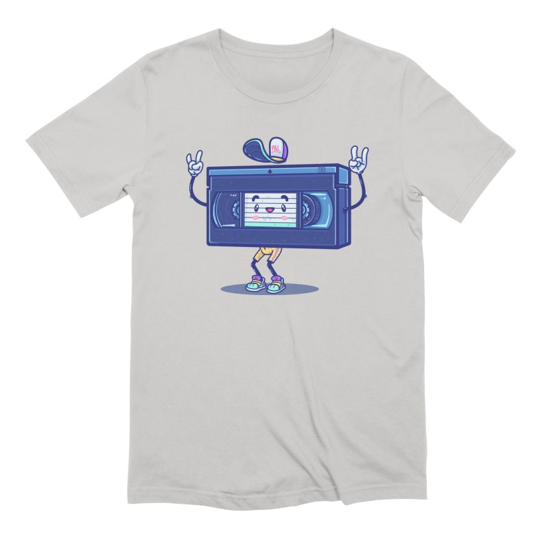 VHS PAL Men's T-Shirt by Bálooie's Artist Shop