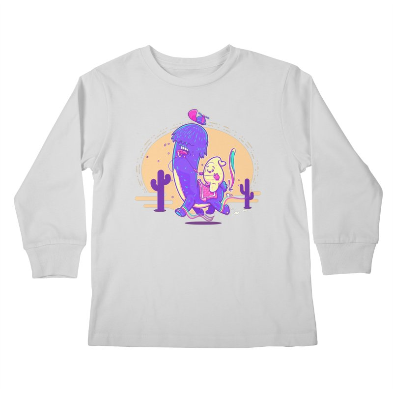 Just lama, no drama! Kids Longsleeve T-Shirt by Bálooie's Artist Shop