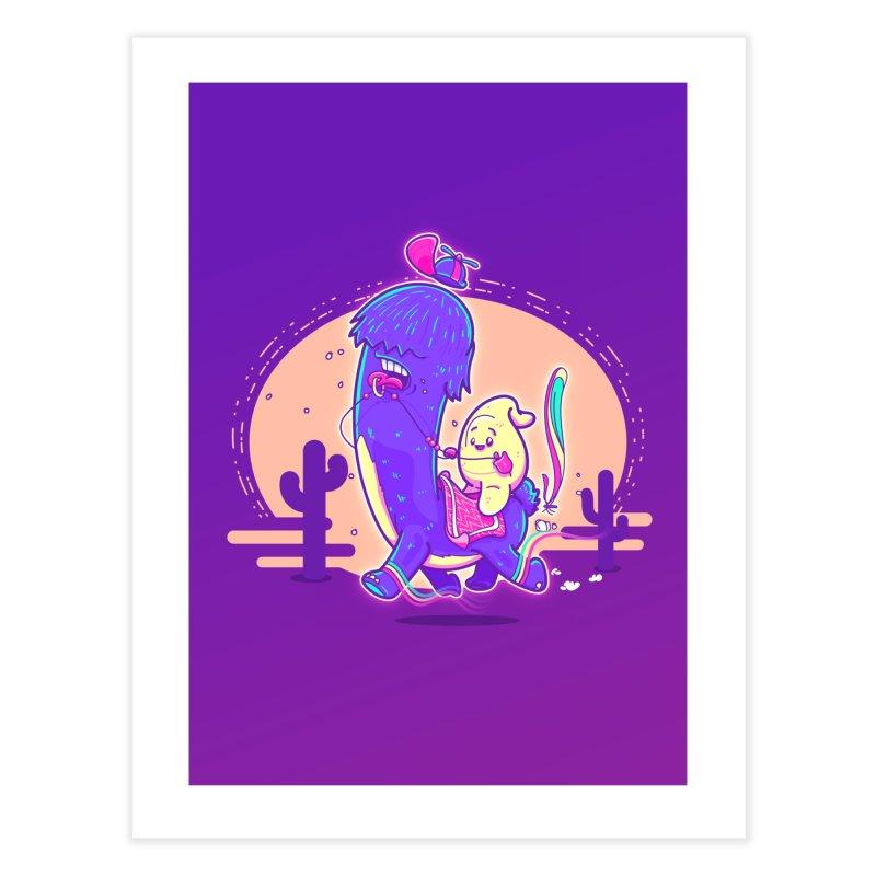 Just lama, no drama! Home Fine Art Print by Bálooie's Artist Shop