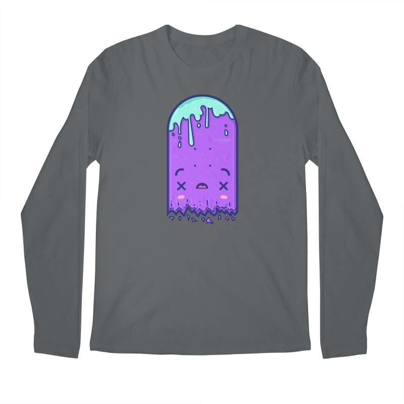 Skateboarding Is Not A Crime – Broken Deck Men's Longsleeve T-Shirt by Bálooie's Artist Shop