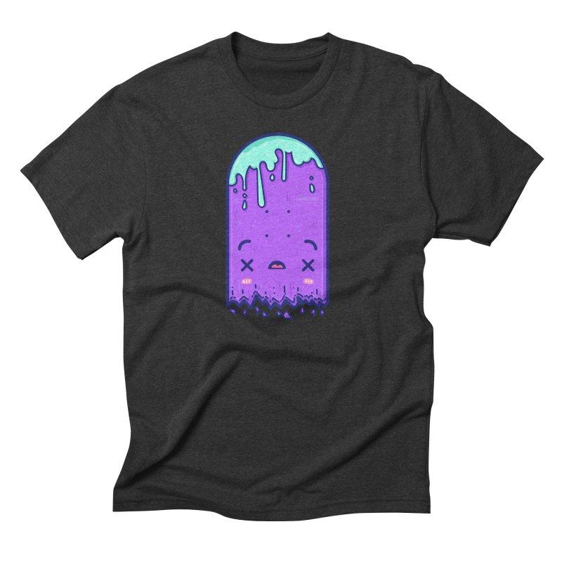 Skateboarding Is Not A Crime – Broken Deck Men's Triblend T-Shirt by Bálooie's Artist Shop
