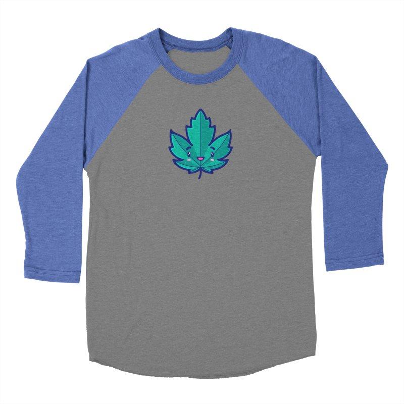 Skateboarding Is Not A Crime – Maple Leaf Women's Baseball Triblend Longsleeve T-Shirt by Bálooie's Artist Shop