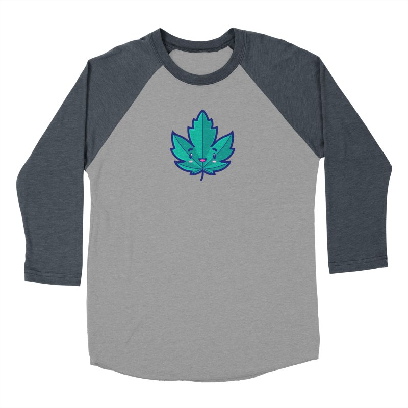 Skateboarding Is Not A Crime – Maple Leaf Men's Baseball Triblend Longsleeve T-Shirt by Bálooie's Artist Shop
