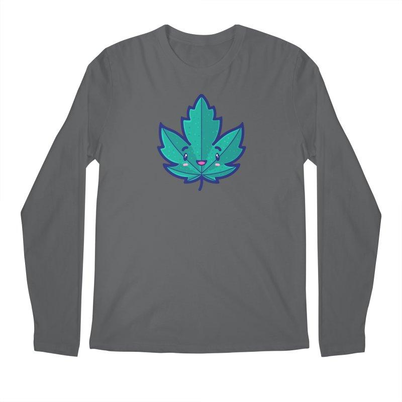 Skateboarding Is Not A Crime – Maple Leaf Men's Longsleeve T-Shirt by Bálooie's Artist Shop