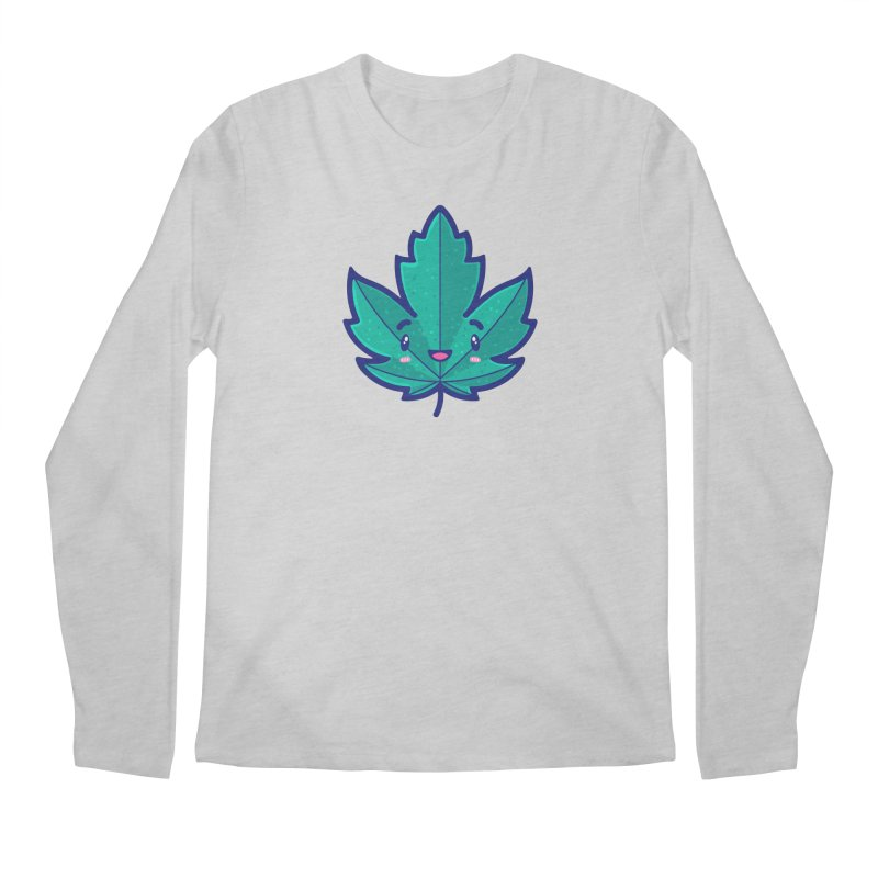 Skateboarding Is Not A Crime – Maple Leaf Men's Regular Longsleeve T-Shirt by Bálooie's Artist Shop