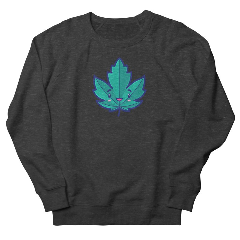 Skateboarding Is Not A Crime – Maple Leaf Men's French Terry Sweatshirt by Bálooie's Artist Shop