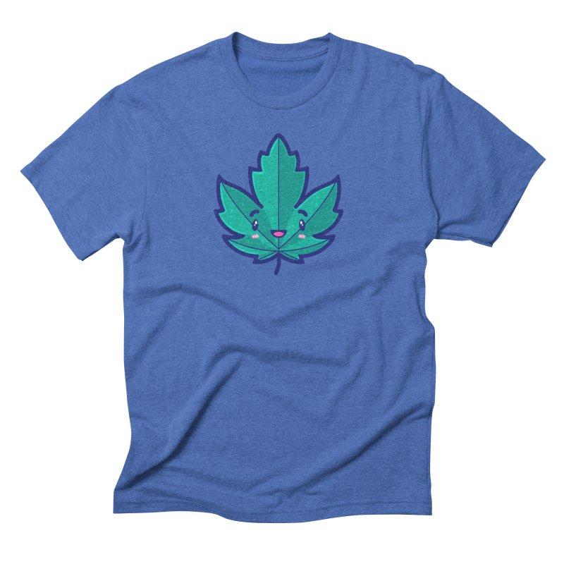 Skateboarding Is Not A Crime – Maple Leaf Men's Triblend T-Shirt by Bálooie's Artist Shop