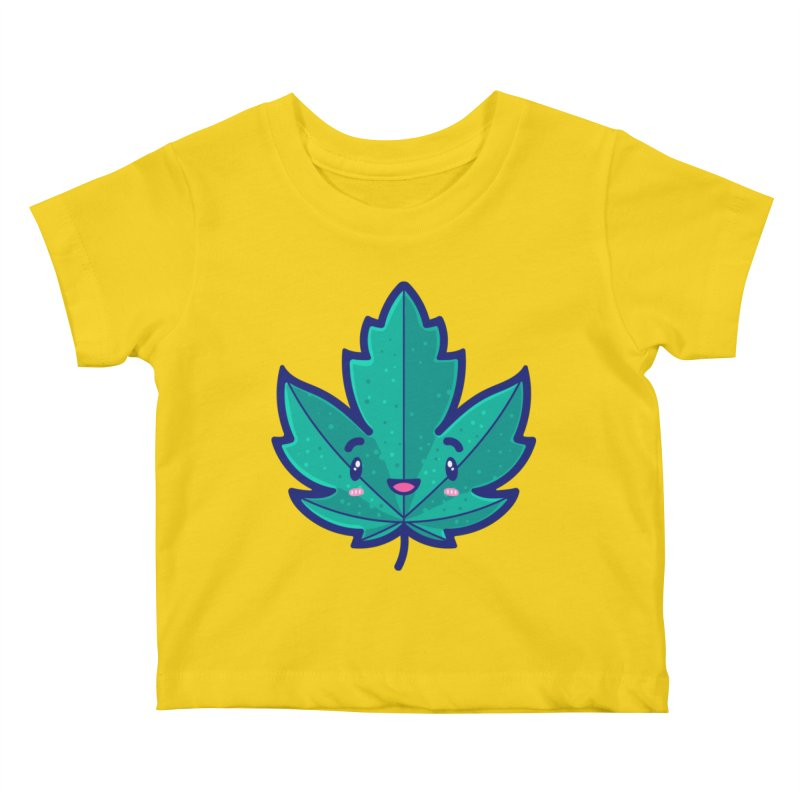 Skateboarding Is Not A Crime – Maple Leaf Kids Baby T-Shirt by Bálooie's Artist Shop