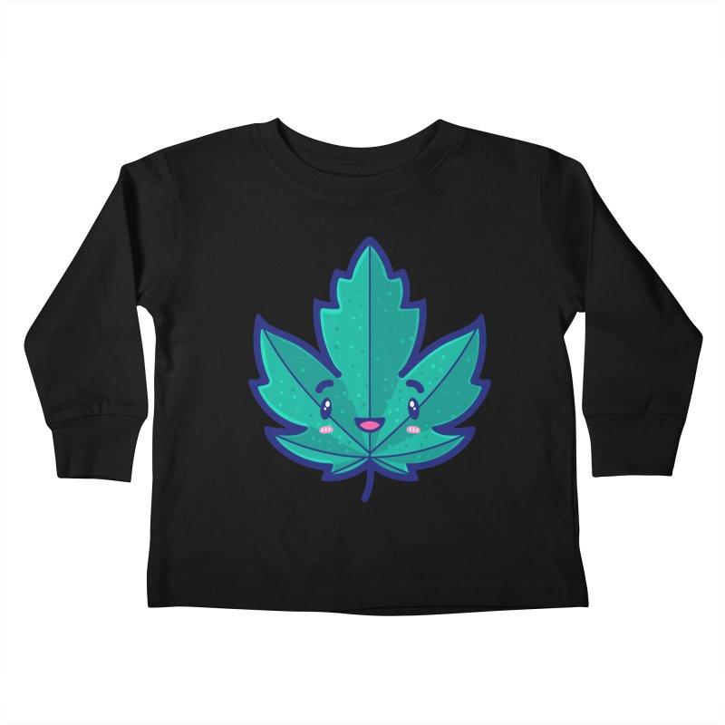 Skateboarding Is Not A Crime – Maple Leaf Kids Toddler Longsleeve T-Shirt by Bálooie's Artist Shop