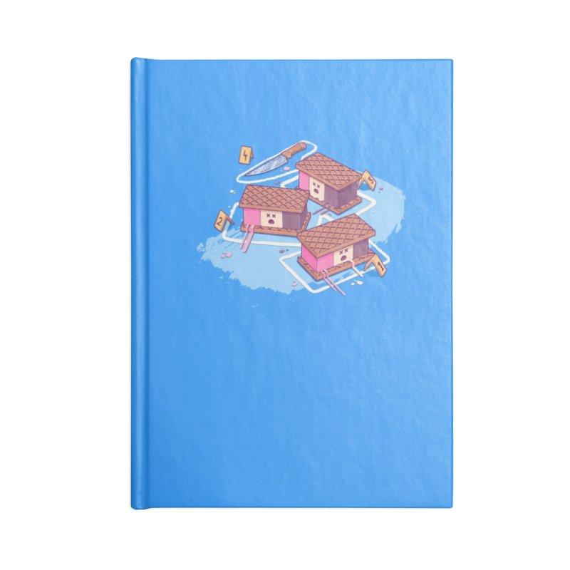 Crime Scene Ice Accessories Notebook by Bálooie's Artist Shop