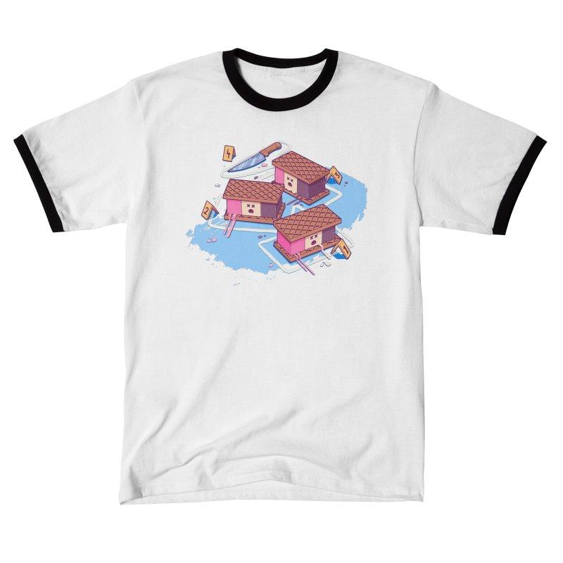Crime Scene Ice Men's T-Shirt by Bálooie's Artist Shop
