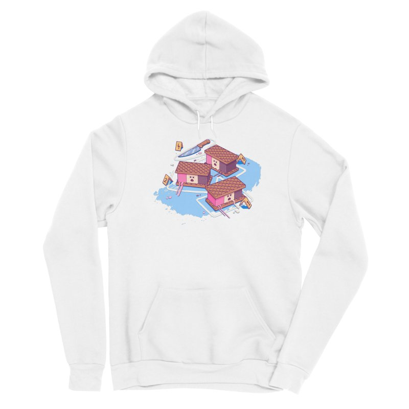 Crime Scene Ice Men's Pullover Hoody by Bálooie's Artist Shop