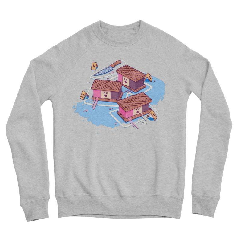 Crime Scene Ice Men's Sweatshirt by Bálooie's Artist Shop