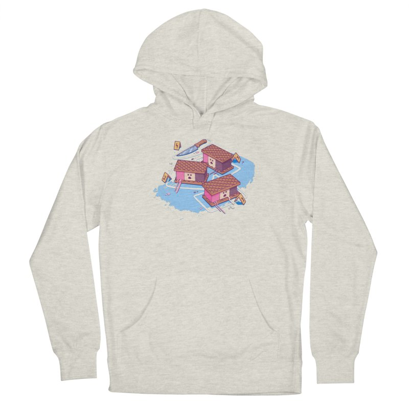 Crime Scene Ice Women's Pullover Hoody by Bálooie's Artist Shop