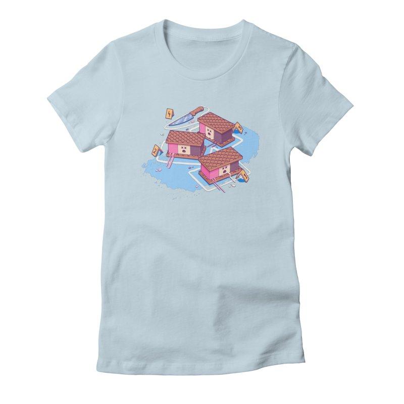 Crime Scene Ice Women's T-Shirt by Bálooie's Artist Shop