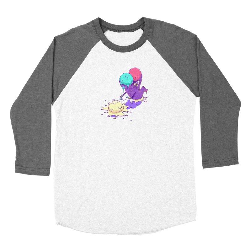 Oh No! Women's Baseball Triblend Longsleeve T-Shirt by Bálooie's Artist Shop