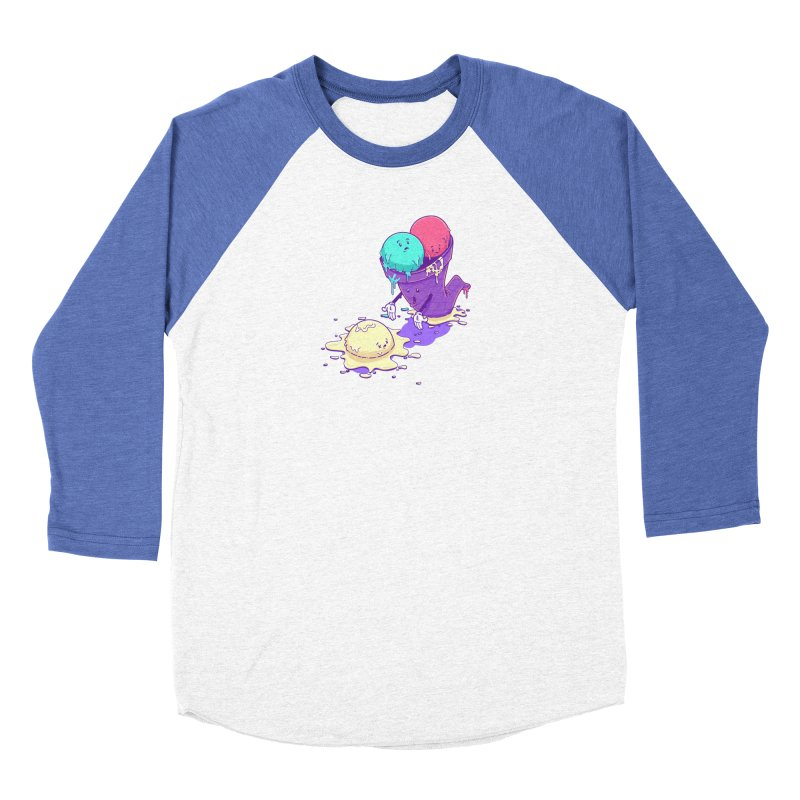Oh No! Men's Baseball Triblend Longsleeve T-Shirt by Bálooie's Artist Shop