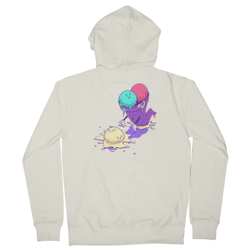 Oh No! Women's French Terry Zip-Up Hoody by Bálooie's Artist Shop