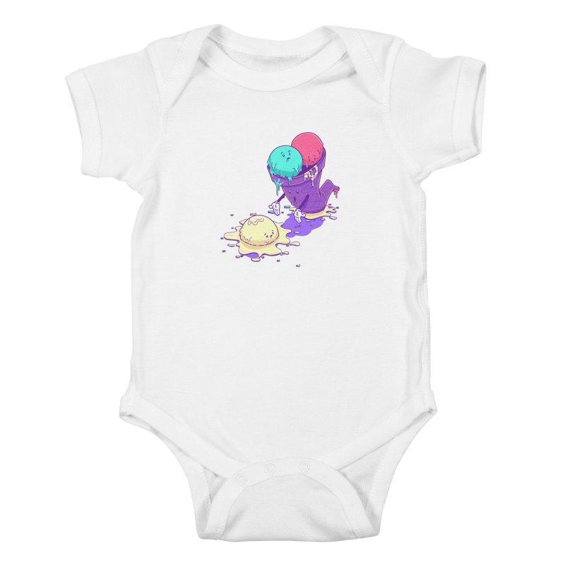 Oh No! Kids Baby Bodysuit by Bálooie's Artist Shop