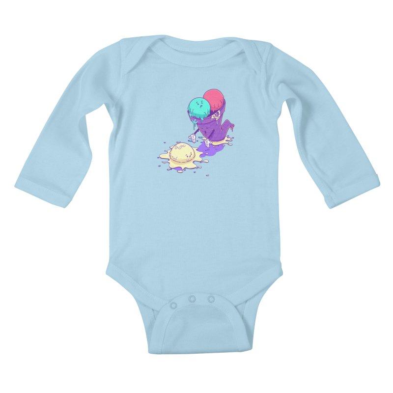 Oh No! Kids Baby Longsleeve Bodysuit by Bálooie's Artist Shop