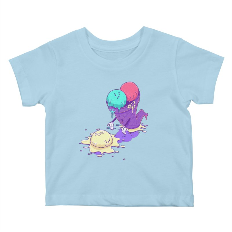 Oh No! Kids Baby T-Shirt by Bálooie's Artist Shop