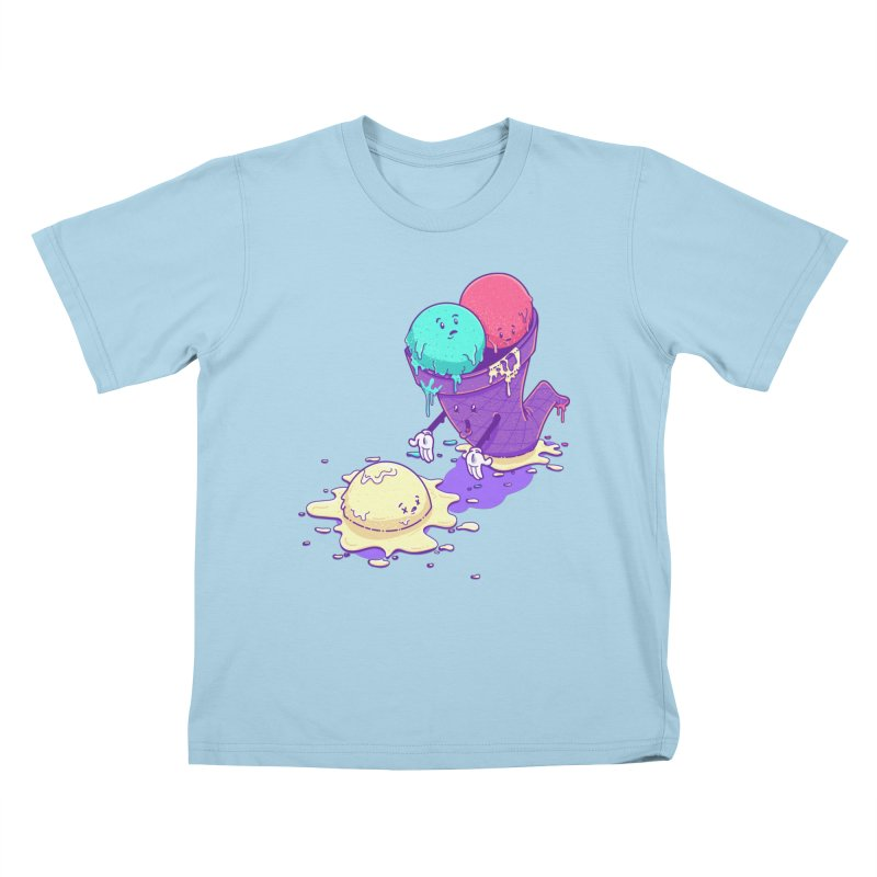Oh No! Kids T-Shirt by Bálooie's Artist Shop