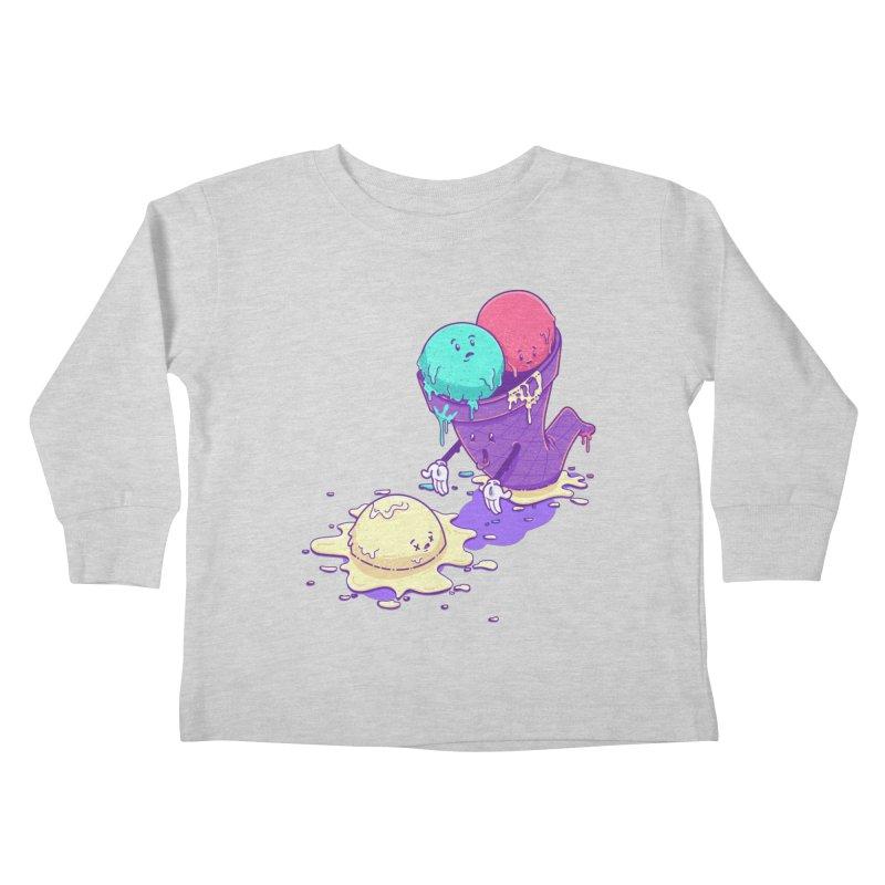 Oh No! Kids Toddler Longsleeve T-Shirt by Bálooie's Artist Shop