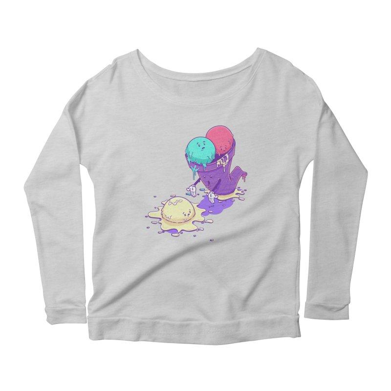Oh No! Women's Scoop Neck Longsleeve T-Shirt by Bálooie's Artist Shop