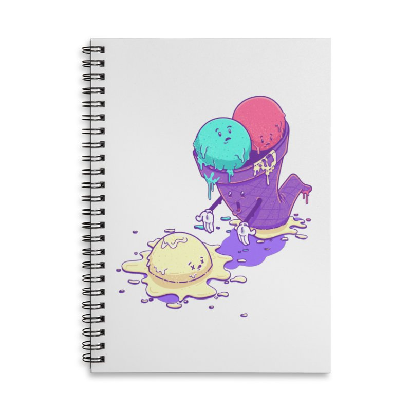 Oh No! Accessories Notebook by Bálooie's Artist Shop