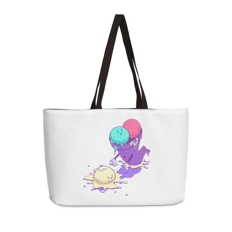 Oh No! Accessories Weekender Bag Bag by Bálooie's Artist Shop