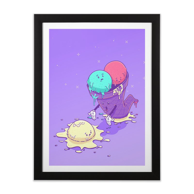 Oh No! Home Framed Fine Art Print by Bálooie's Artist Shop