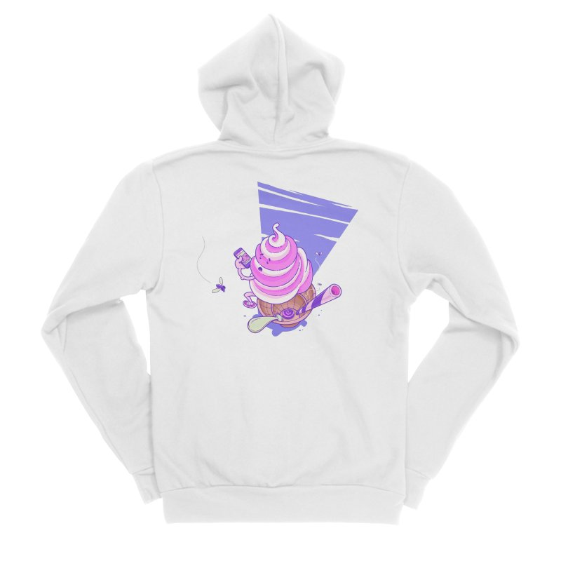 Soft Serve Food Porn Men's Zip-Up Hoody by Bálooie's Artist Shop