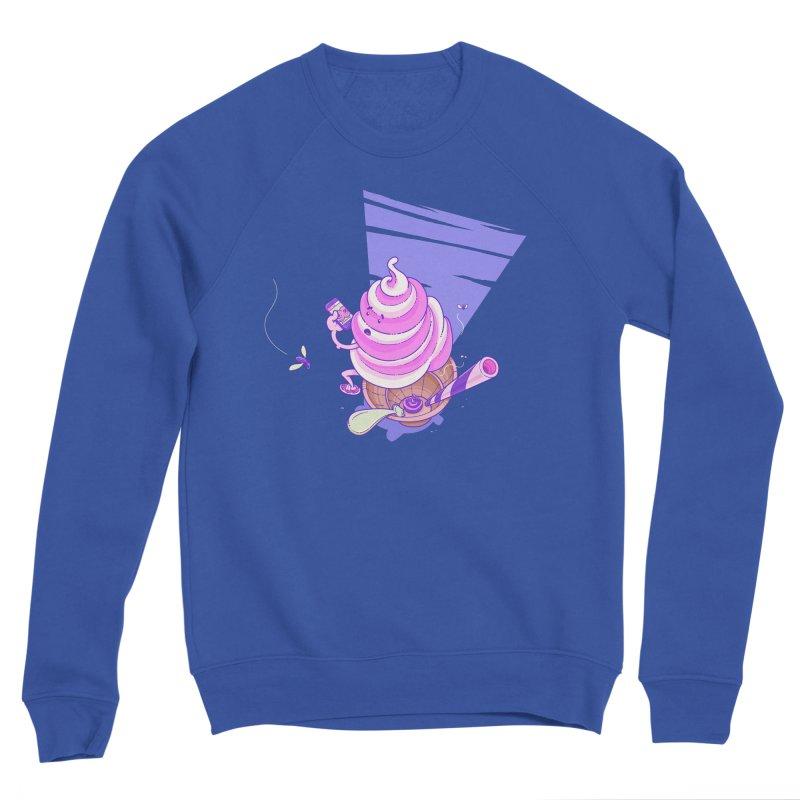 Soft Serve Food Porn Men's Sweatshirt by Bálooie's Artist Shop