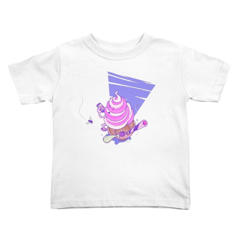 Soft Serve Food Porn Kids Toddler T-Shirt by Bálooie's Artist Shop