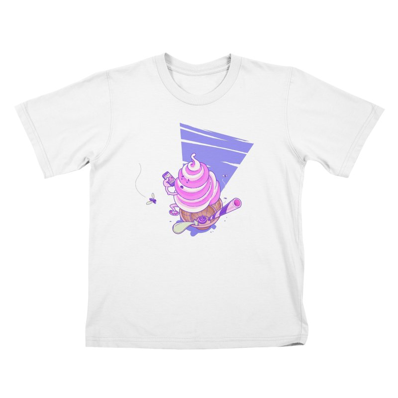Soft Serve Food Porn Kids T-Shirt by Bálooie's Artist Shop