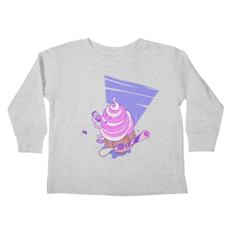 Soft Serve Food Porn Kids Toddler Longsleeve T-Shirt by Bálooie's Artist Shop