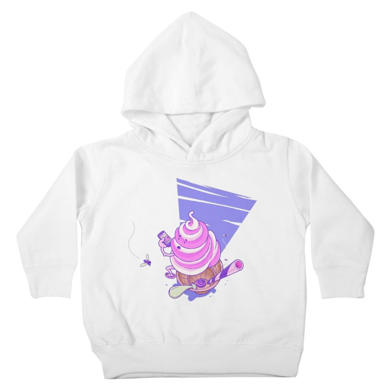 Soft Serve Food Porn Kids Toddler Pullover Hoody by Bálooie's Artist Shop