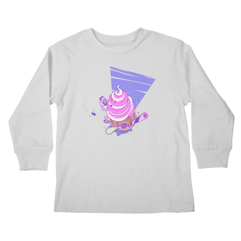 Soft Serve Food Porn Kids Longsleeve T-Shirt by Bálooie's Artist Shop