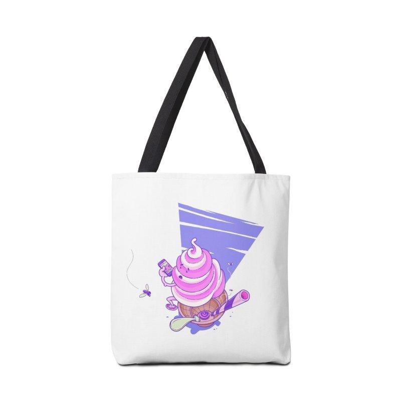 Soft Serve Food Porn Accessories Tote Bag Bag by Bálooie's Artist Shop