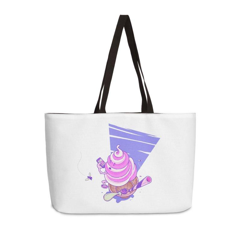 Soft Serve Food Porn Accessories Weekender Bag Bag by Bálooie's Artist Shop