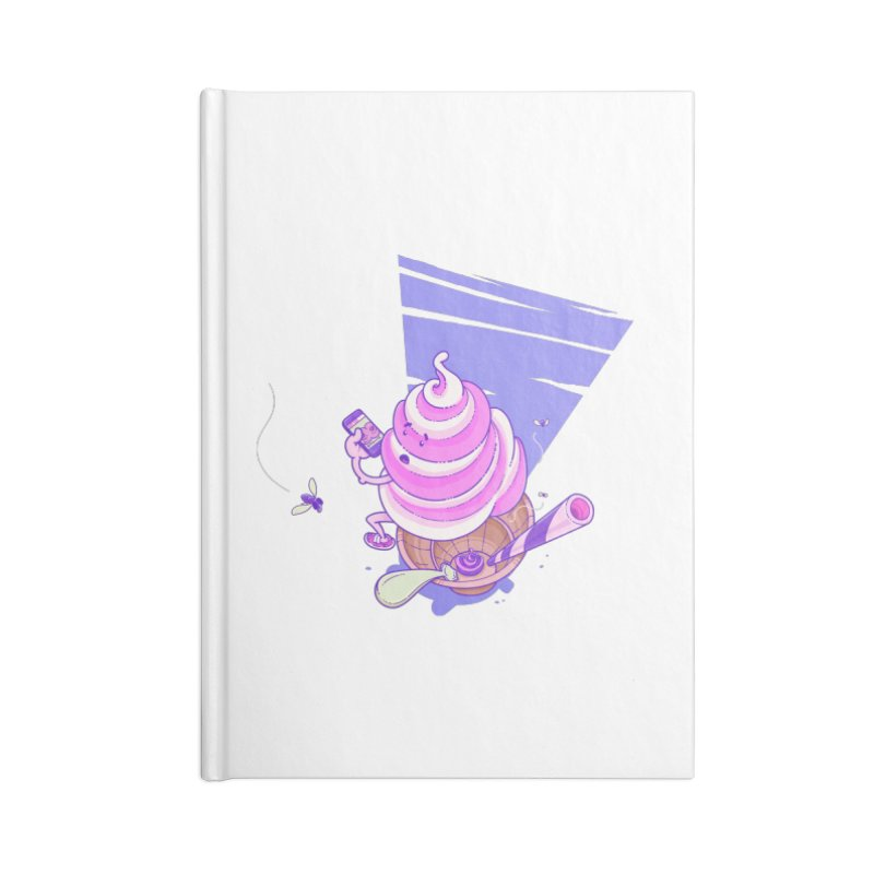 Soft Serve Food Porn Accessories Notebook by Bálooie's Artist Shop