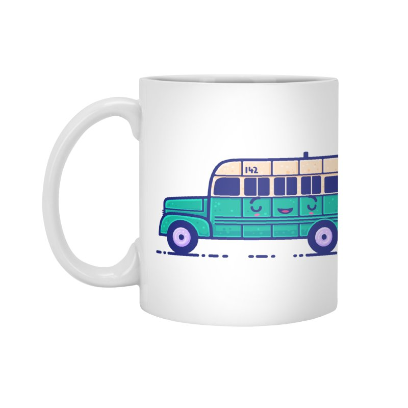 The Great Outdoors Sticker Collection – Magic Bus Accessories Mug by Bálooie's Artist Shop