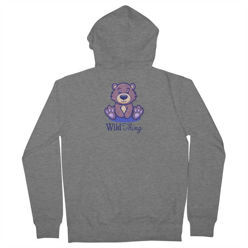 The Great Outdoors – Wild Thing Women's Zip-Up Hoody by Bálooie's Artist Shop