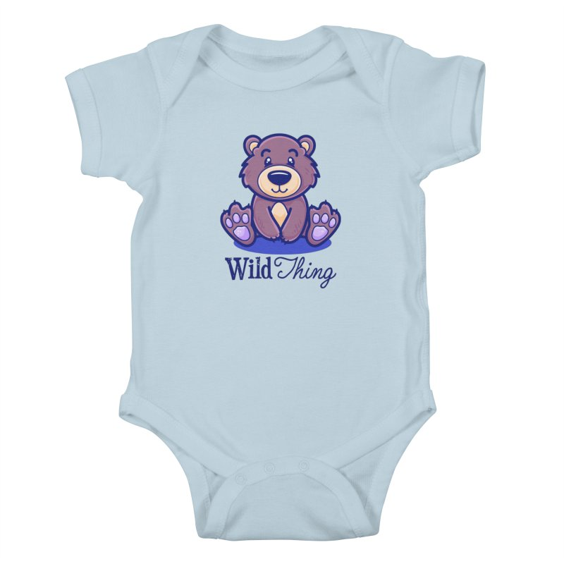The Great Outdoors – Wild Thing Kids Baby Bodysuit by Bálooie's Artist Shop