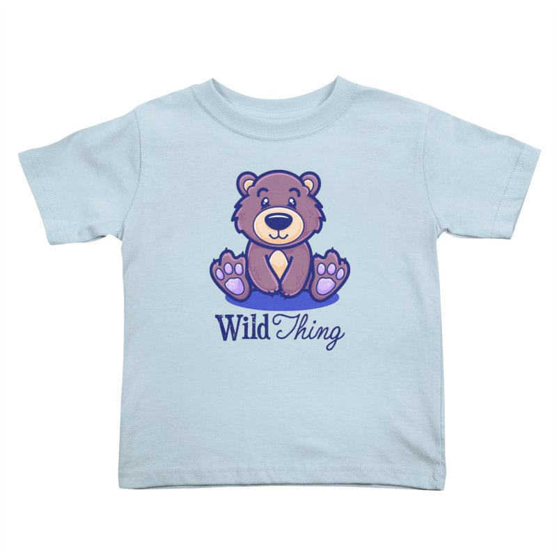 The Great Outdoors – Wild Thing Kids Toddler T-Shirt by Bálooie's Artist Shop