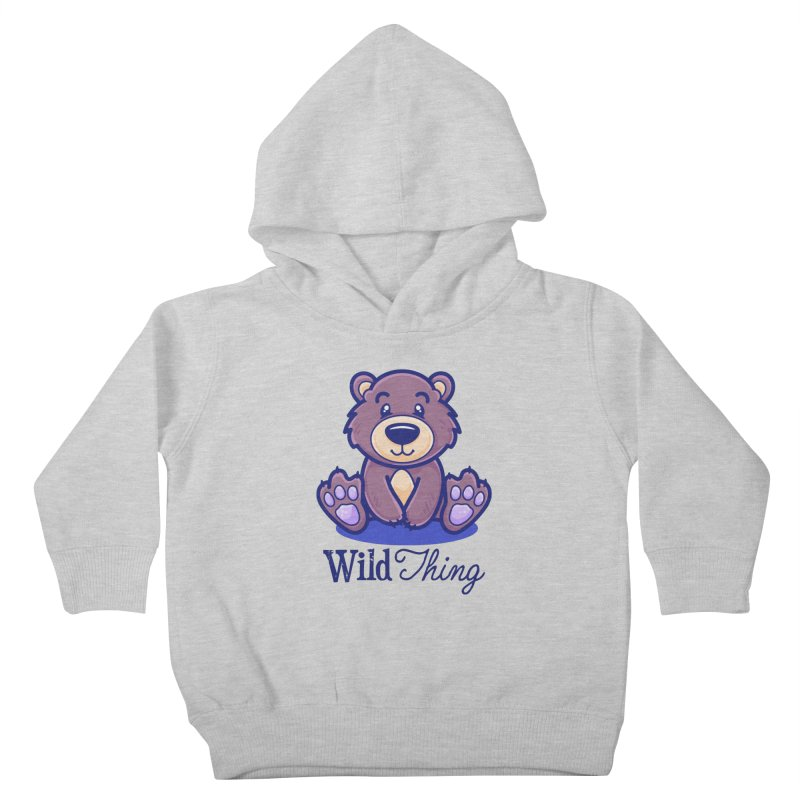 The Great Outdoors – Wild Thing Kids Toddler Pullover Hoody by Bálooie's Artist Shop