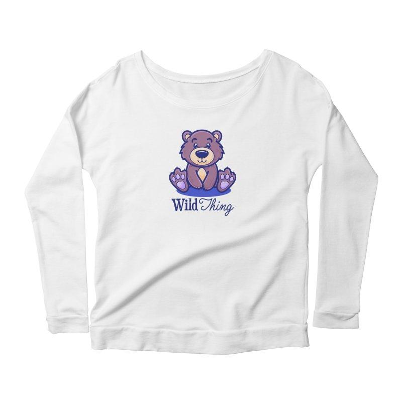 The Great Outdoors – Wild Thing Women's Scoop Neck Longsleeve T-Shirt by Bálooie's Artist Shop