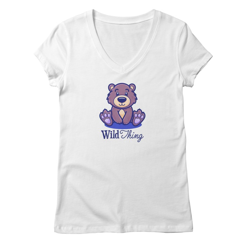 The Great Outdoors – Wild Thing Women's Regular V-Neck by Bálooie's Artist Shop