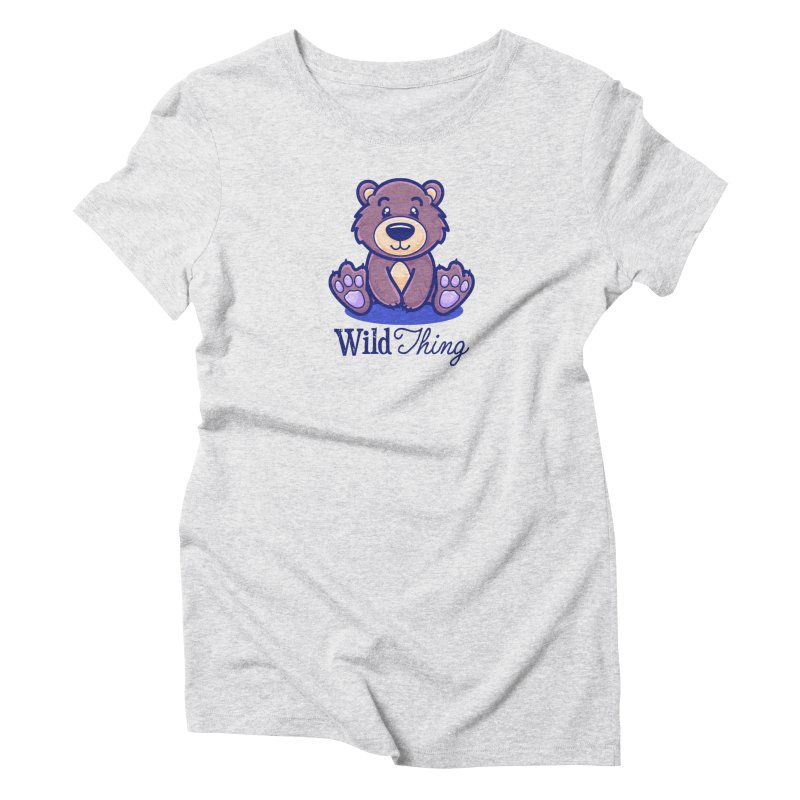 The Great Outdoors – Wild Thing Women's T-Shirt by Bálooie's Artist Shop